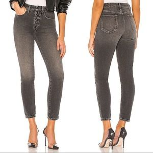 NEW We Wore What Danielle Vintage Straight Jeans